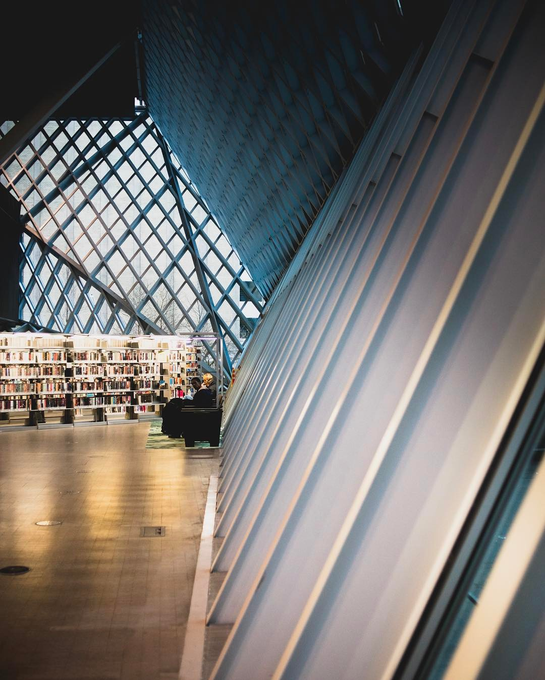 One more from my Seattle Public Library series This placehellip