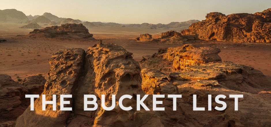 How To Make The Ultimate Bucket List