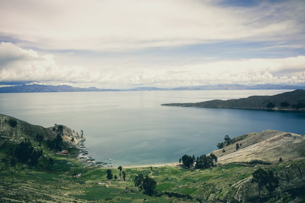 Lake Titicaca From Isla Del Sol