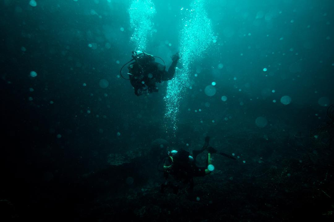 A haunting dive in Palau