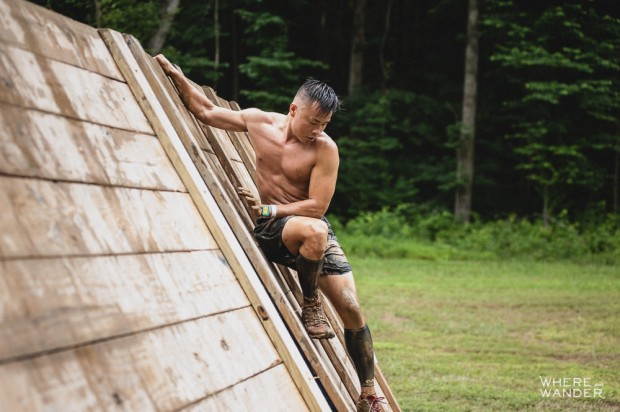 BattleFrog 15K Obstacle Course Race Must Do Inverted Wall