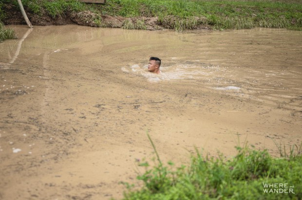 BattleFrog 15K Obstacle Course Race Must Do Swim