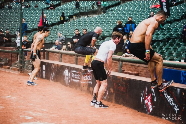 AT&T Park Spartan Stadium Sprint Finishing Dash