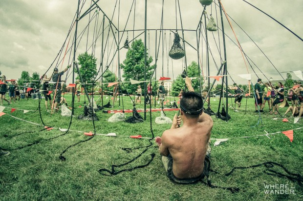 Heavy Hoist At Merrell Down and Dirty Obstacle Race