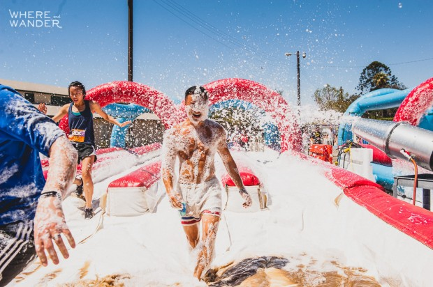 ROC Race 5K Obstacle: Covered In Foam
