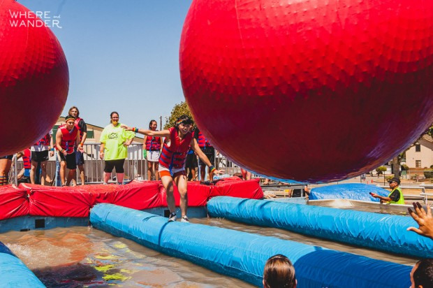 ROC Race 5K Obstacle: Wrecking Ball