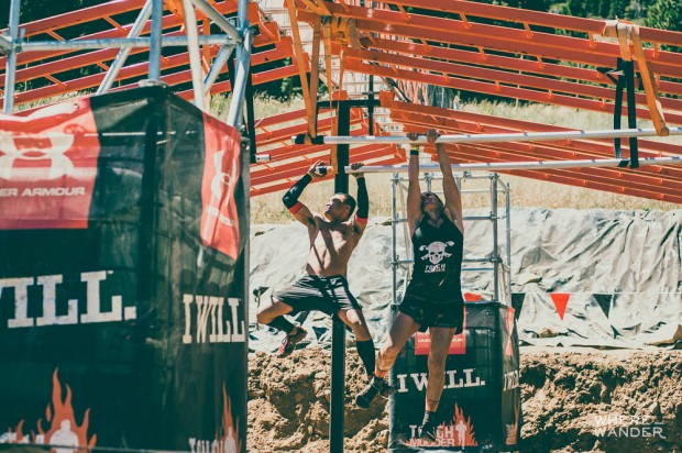 Tough Mudder Legionnaire Pipe Climb