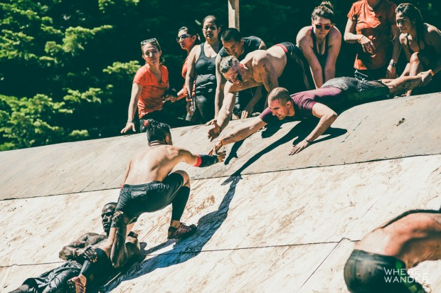 Tough Mudder Camaraderie and Teamwork