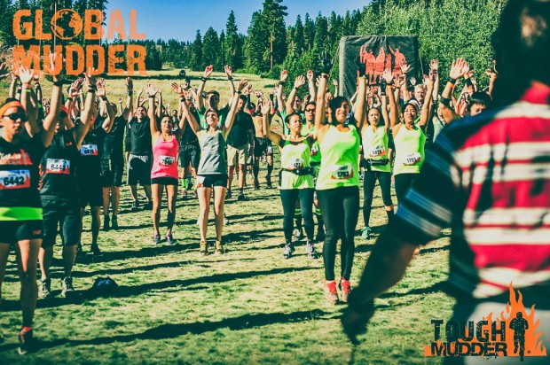 Tough Mudder Starting Line