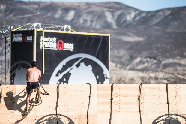 Spartan Race Slippery Wall