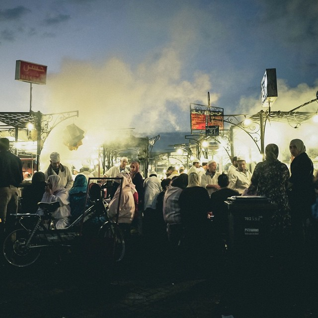 Every night the Jemaa El-Fna square in Marrakech comes to…