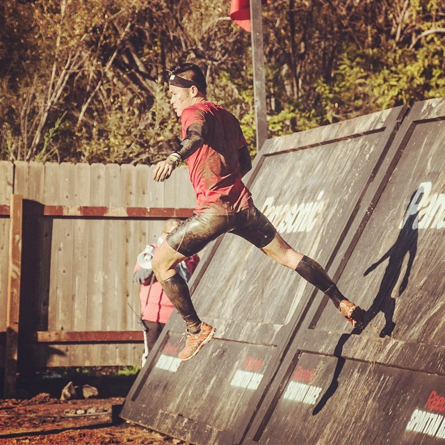 At some point, you have to believe you can do it. Raced in my first Elite Spartan Sprint on Saturday and finished in the top 40. Next race: Top 20. #spartan race #Spartan #training #fitness #ocr #malibu #fly