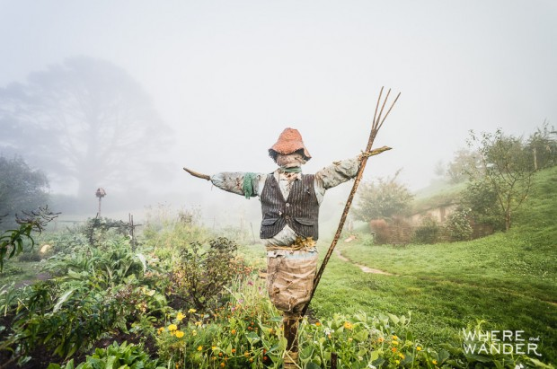 Scarecrow In Hobbiton: Battle of the Five Armies Shire