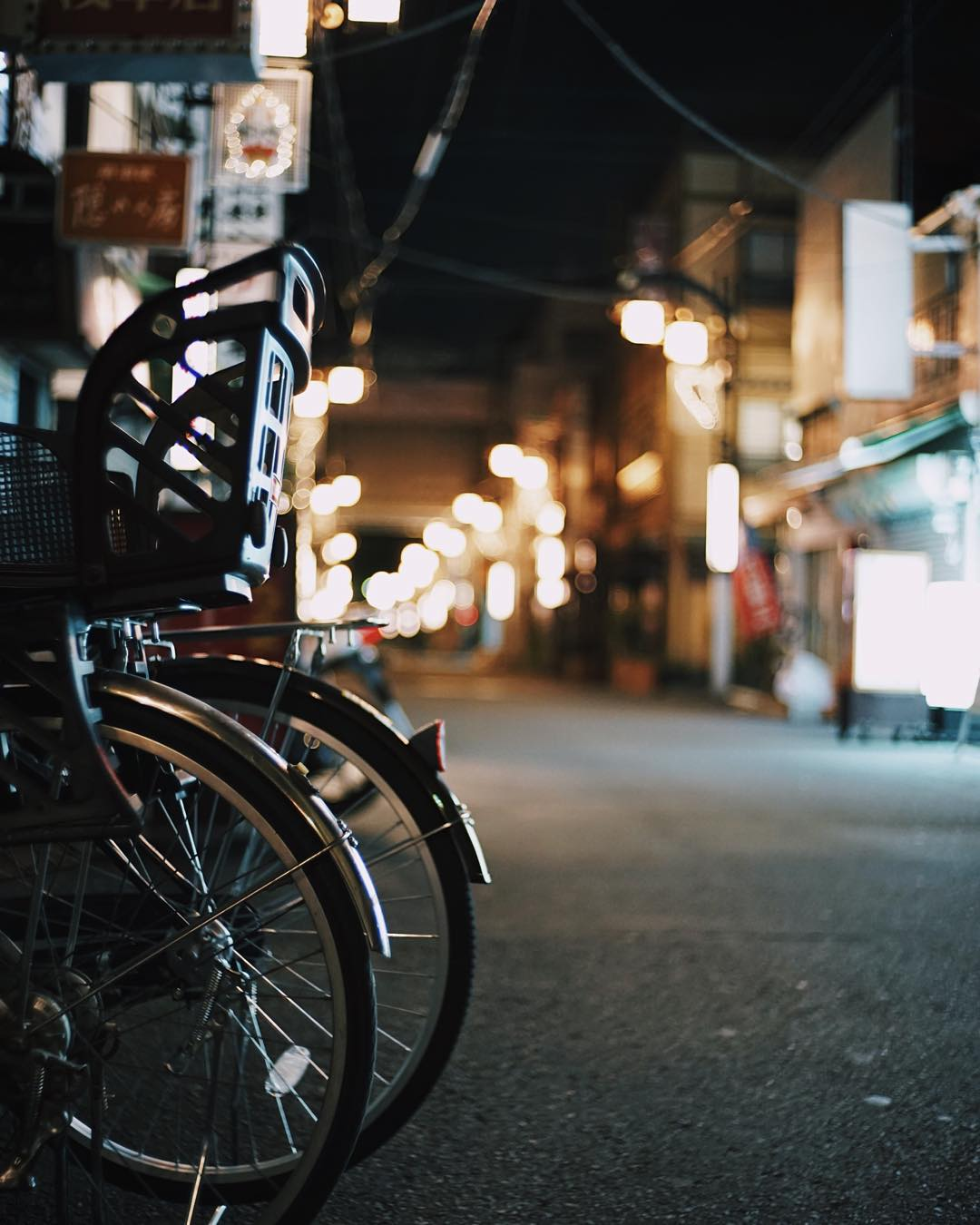Night biking travel wanderlust night tokyo