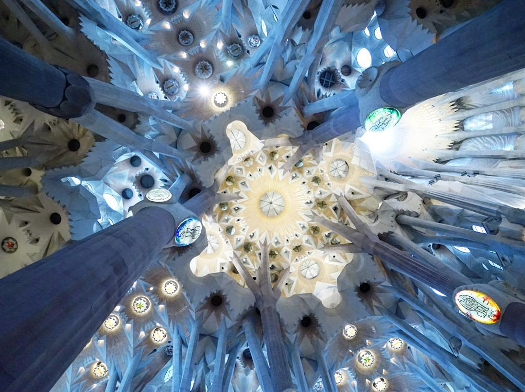 Look up once in a while travel spain wanderlust