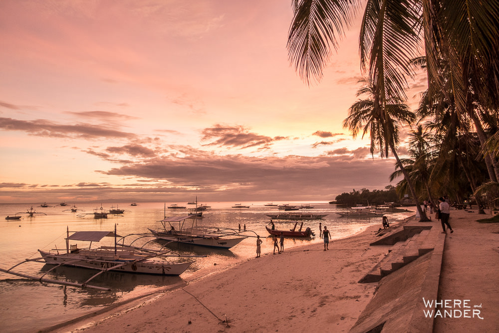 Panglao-Alona-Beach-Perfect-Sunset