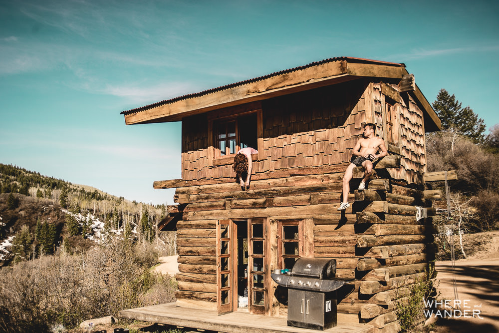 Strawberry Park Hotsprings Cabin Rental