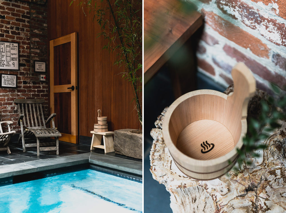 Japanese Onsen Bath Bucket