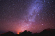 Milky Way Over Mauna Keay