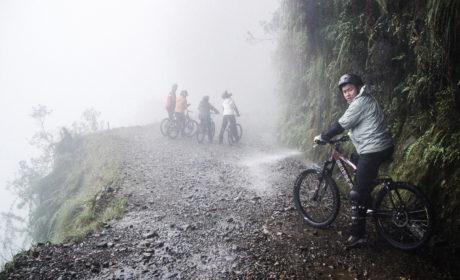 Biking The Death Road
