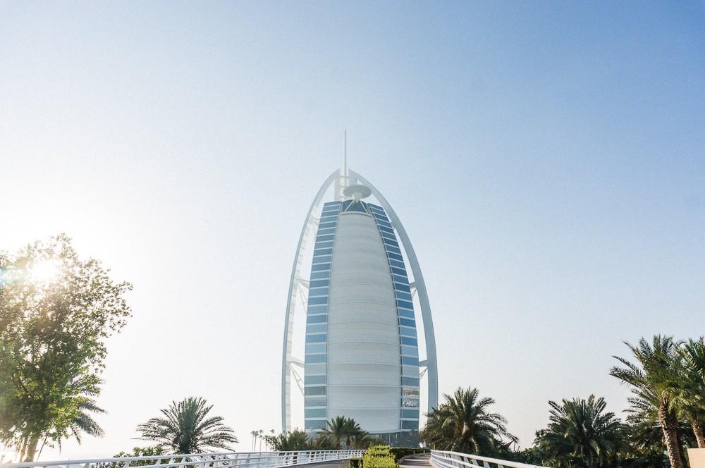 Burj Al Arab Dubai Exterior