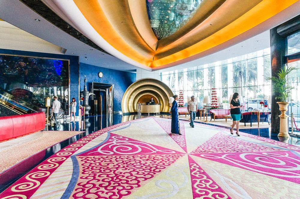 Burj Al Arab Dubai Interior
