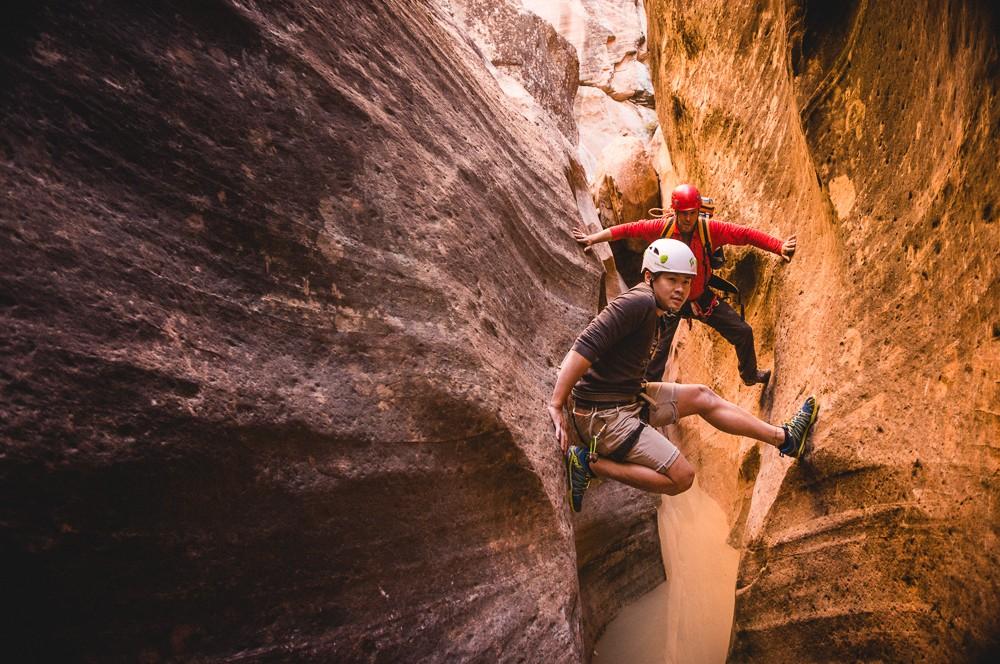 Kien Lam Stemming Across Yankee Doodle Canyon