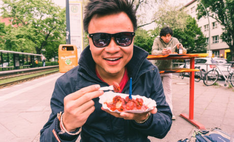 Eating Berlin's Spiciest Currywurst at Curry & Chili