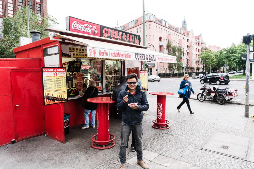 Curry and Chili stand in Berlin