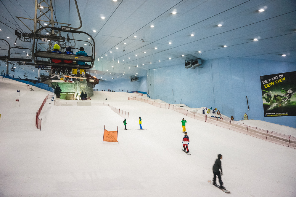 Indoor Snowboarding: Cause It's Dubai And You Can