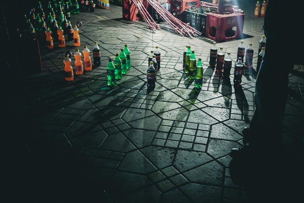 Coke Bottle Games At Jamaa El Fna