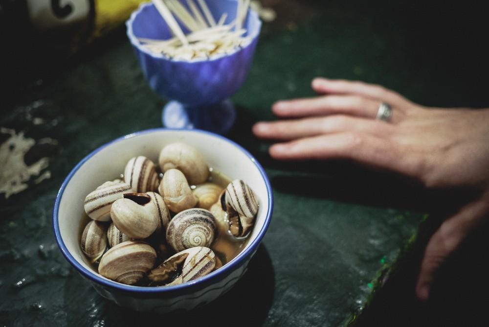 Boiled Snails Jamaa El Fna