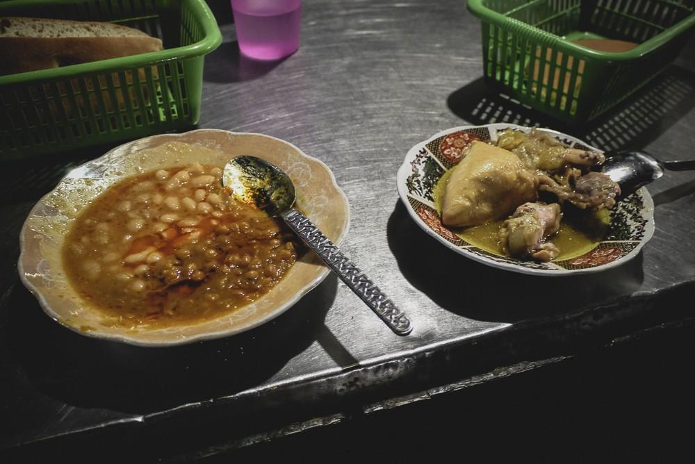 Harira And Stewed Chicken Jamaa El Fna