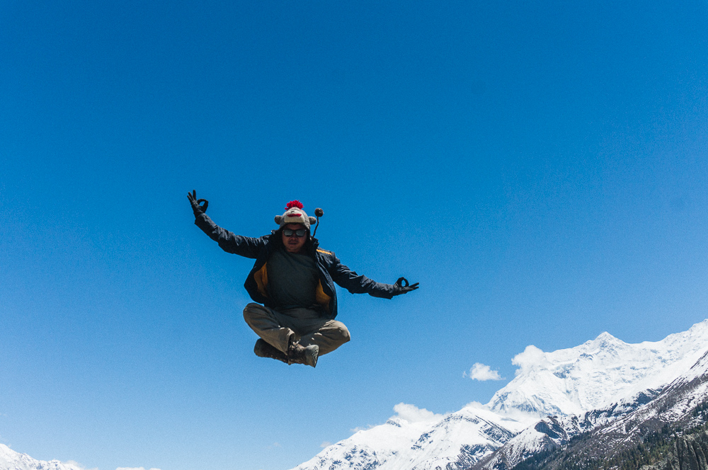 Jumping Shot Annapurna Circuit