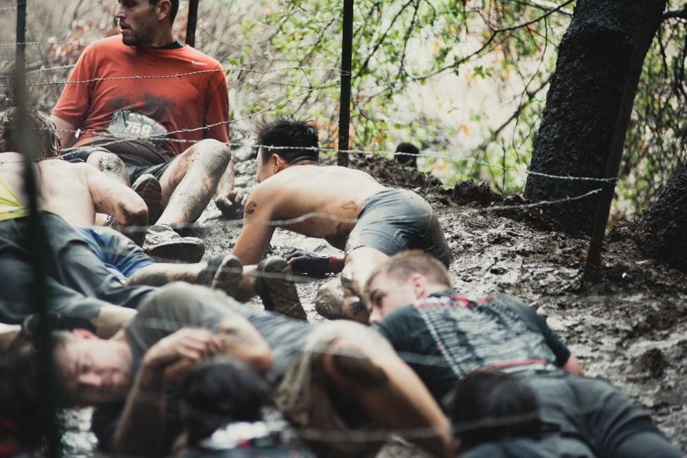 Malibu Spartan Kien Lam Uphill Barbed Wire Crawl