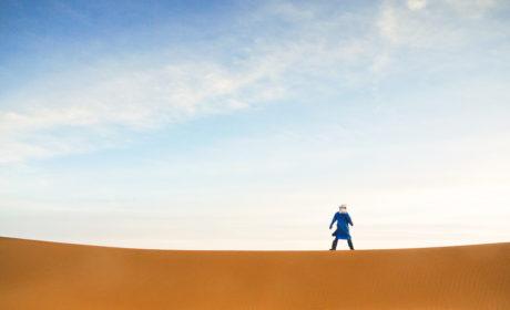 Berber Guide On Merzouga Desert Camel Trek