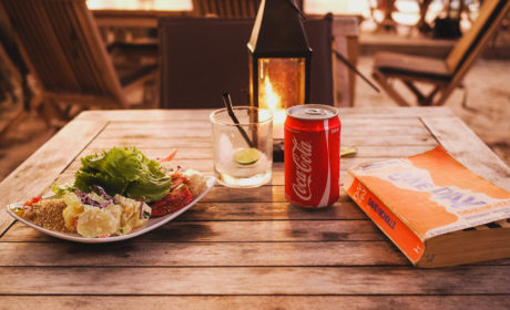 Dinner and Relaxing On Nusa Lembongan