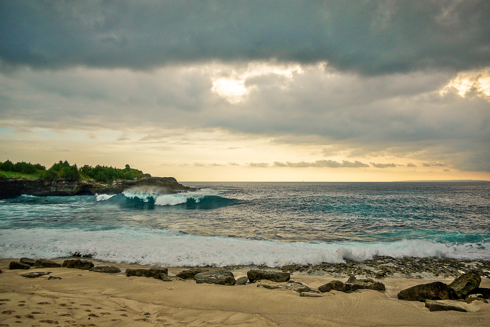 Nusa Lembongan Sunset From Beach Club Formerly Scallywags