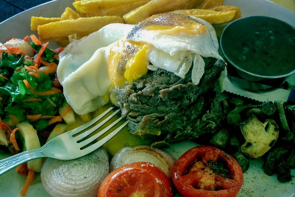 Beef Steak In India Found On Palolem Beach