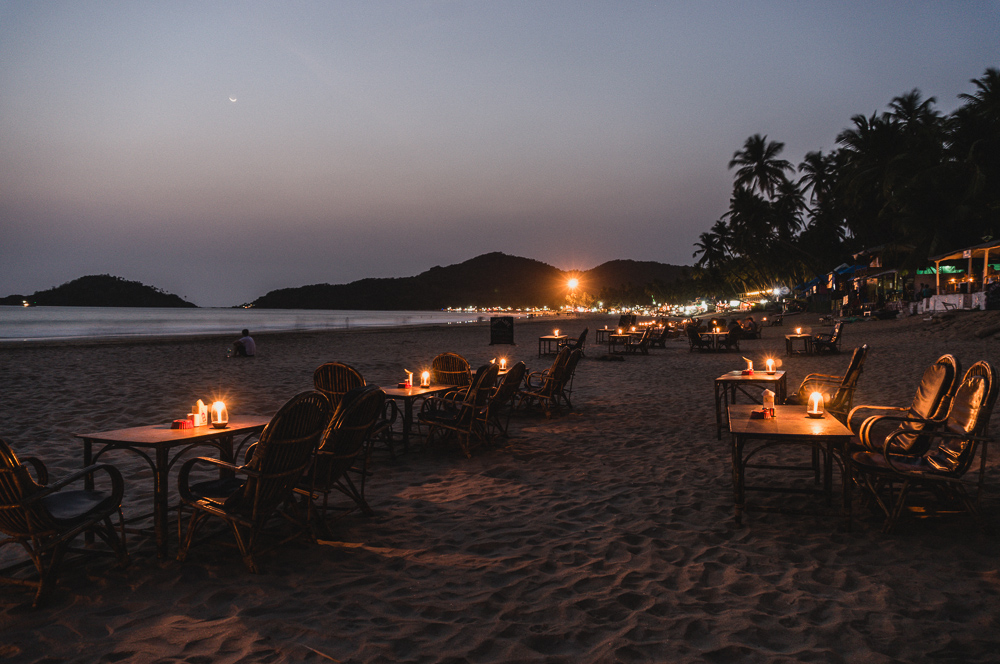 Palolem Evening Restaurants On The Beach