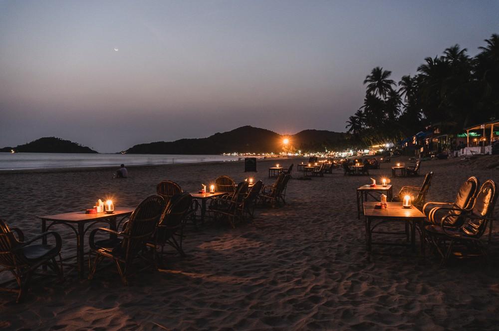 Palolem Evening Restaurants On The Beach