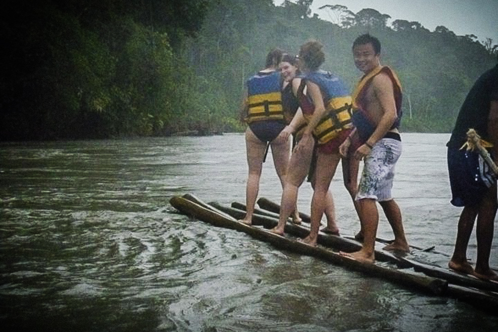 River Rafting On Amazon River