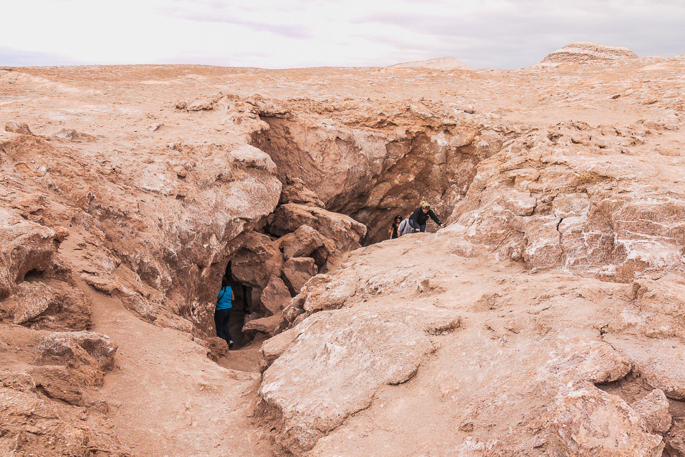 Scrambling Near Tres Marias In The Valle De La Luna