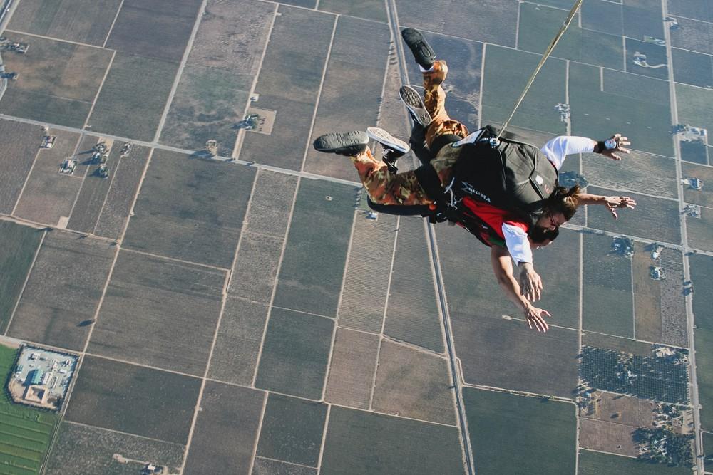 Kien Lam Tandem Skydiving In Lodi