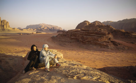 Sunrise Over Wadi Rum