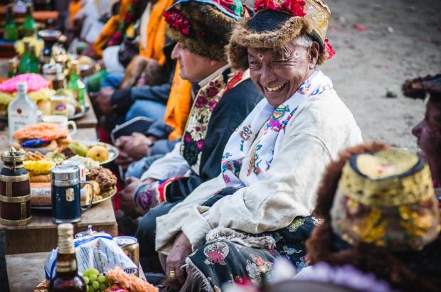 Nepal Villager Celebrating Arrow Festival