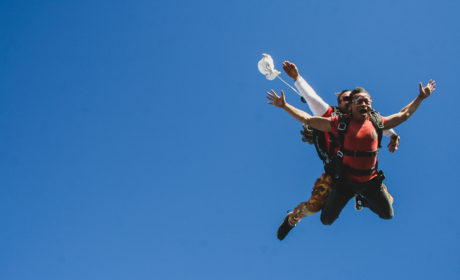 How Skydiving Really Feels