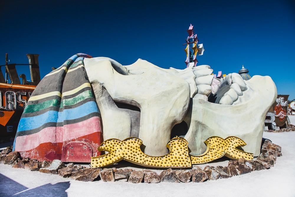 Treasure Island Skull Las Vegas Neon Museum