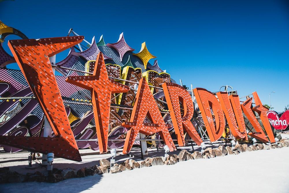 Old Stardust Sign Las Vegas Neon Museum