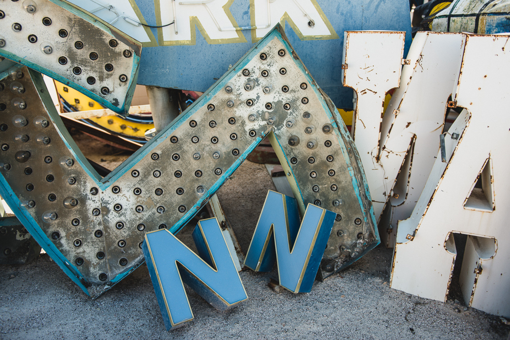 Old Bulbs Las Vegas Neon Museum